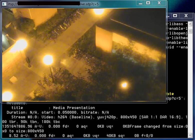 MVE Web & VMS Integration - RTSP Streaming